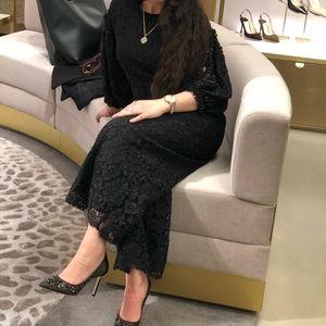 Black lace jumpsuit very classy ♠️